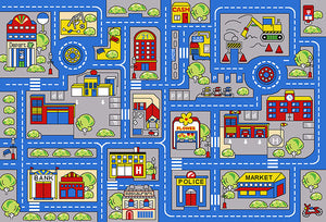 Your Town Map Rug
