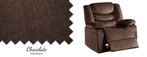 WEEKLY or MONTHLY. Urbino Chocolate POWER Recliner
