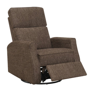 WEEKLY or MONTHLY. Mount Tabor Swivel Glider Recliner in Gray
