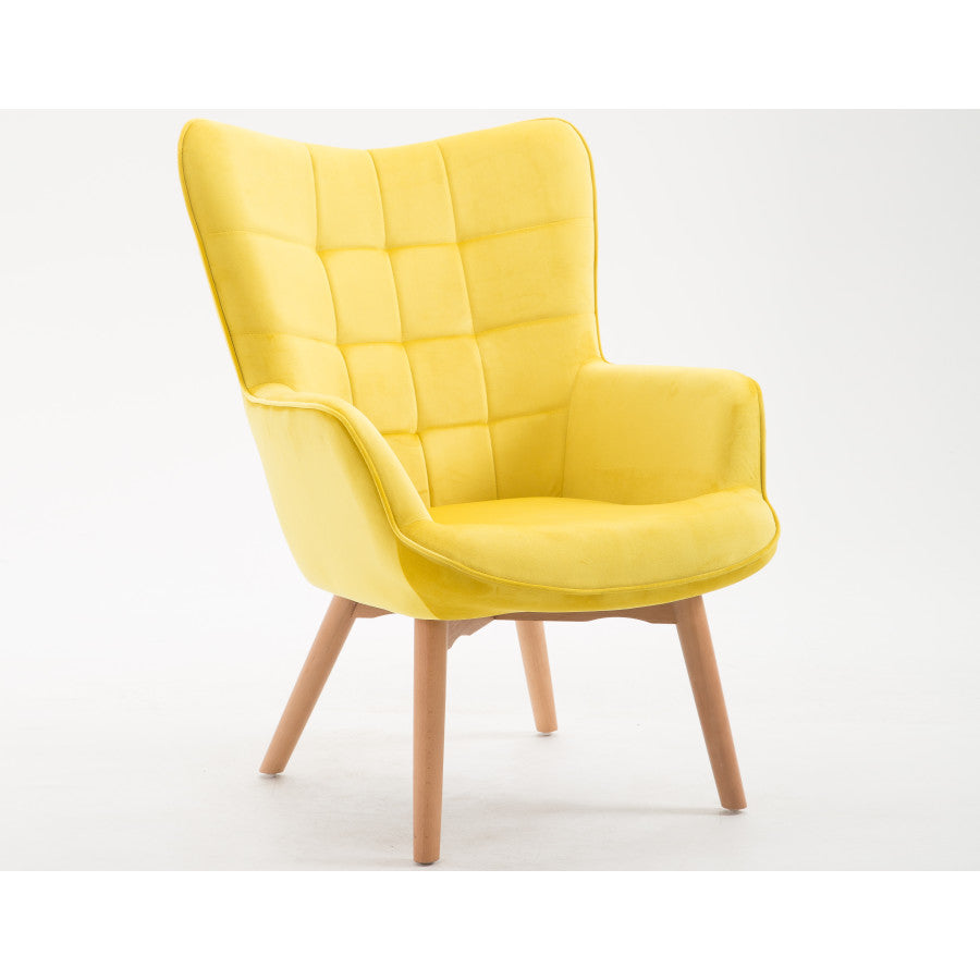 Margaux Accent Chair in Yellow