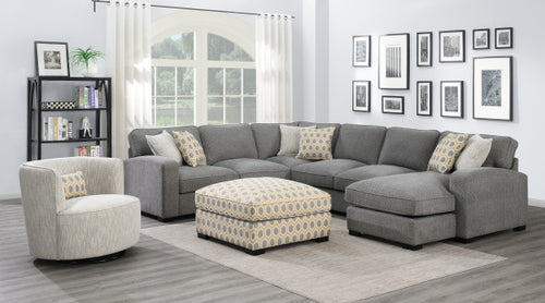 WEEKLY or MONTHLY. Reversible Repose Chaise Sectional