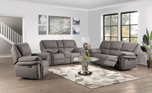 WEEKLY or MONTHLY. Allyna Grey Power Couch Set