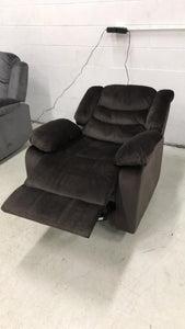 WEEKLY or MONTLY. Urbino Chocolate POWER Recliner