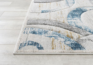 Fossil Rug with Beautiful Gold Accents