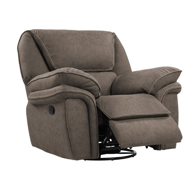 WEEKLY or MONTHLY. Allyna Grey Swivel Glider Recliner