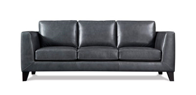 WEEKLY or MONTHLY. Chicago Leather Couch Set