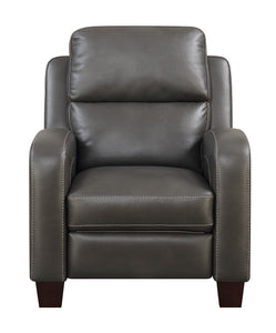 WEEKLY or MONTHLY. Boss Connor Press Back Recliner in Brown