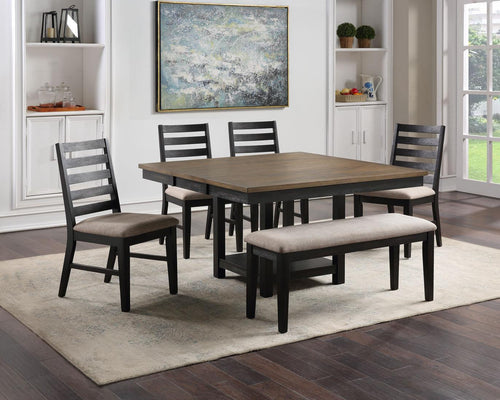 WEEKLY or MONTHLY. Harrington Dining Table & 4 Chair & Bench