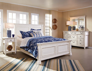WEEKLY or MONTHLY. Stoney Creek White Bedroom Group
