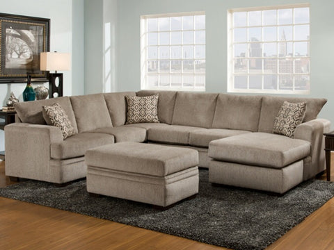 MONTHLY IS FINE. Perth Grey Sectional