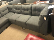 WEEKLY or MONTHLY. Meijer Double Tuft Grey Sectional