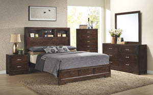 WEEKLY or MONTHLY. Walter Walnut Bedroom Group