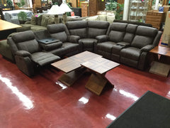 WEEKLY or BI-WEEKLY. Beauty Buckskin Sectional