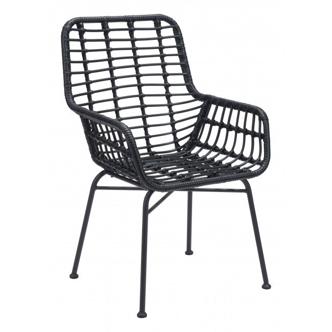 WEEKLY or MONTHLY. Black Lyon Chair