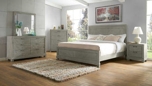 WEEKLY or MONTHLY.  Dark Oak Montana Bedroom Set