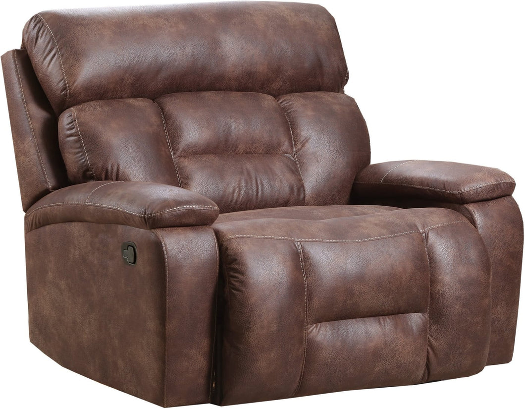WEEKLY or MONTHLY. Dorado Walnut POWER Cuddler Recliner