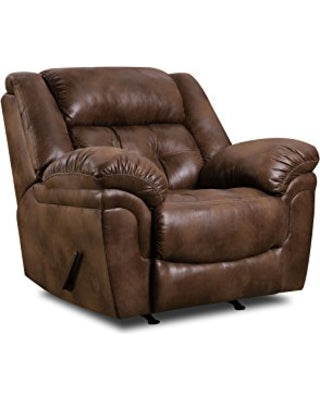 WEEKLY or MONTHLY. Wisconsin Chocolate Rocker Recliner