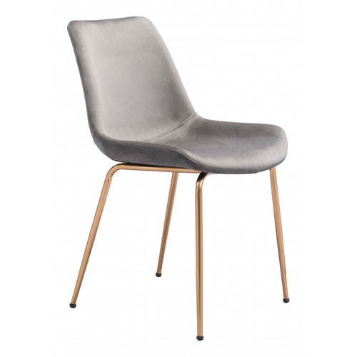 WEEKLY or MONTHLY. Gray Tony Chair