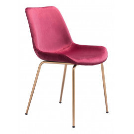 WEEKLY or MONTHLY. Red Tony Chair