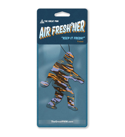 Sasquatch Air Fresh'ner - The Great PNW