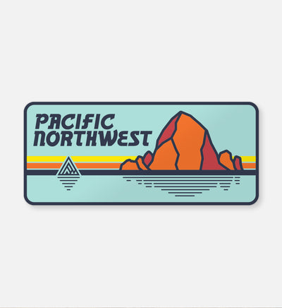 Coast Sticker - The Great PNW