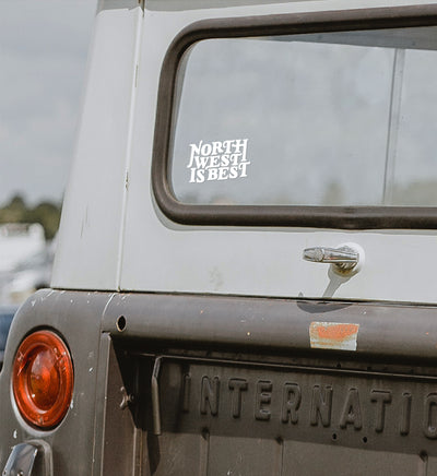 North West is Best Vinyl Decal - The Great PNW