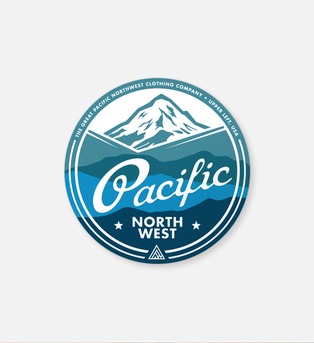 Rainier Sticker - The Great PNW