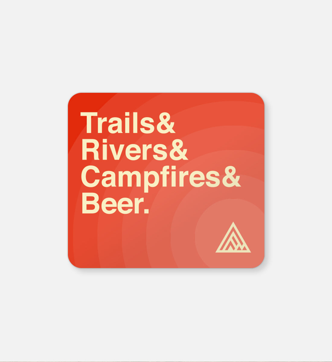 Trailhead Sticker - The Great PNW