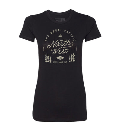 Women's Survey Tee - The Great PNW
