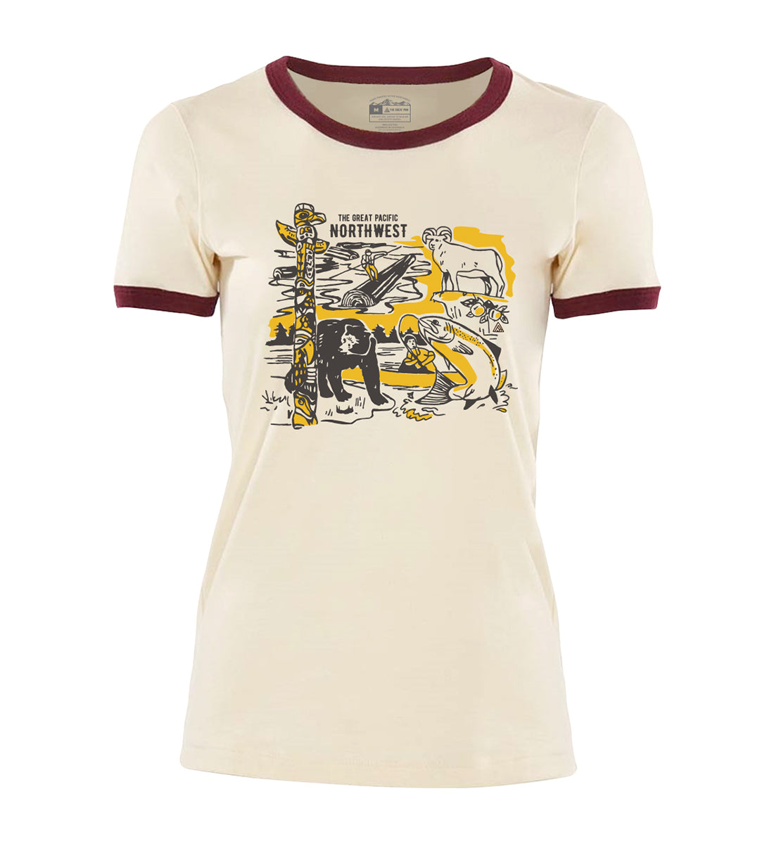 Times Women's Tee - The Great PNW