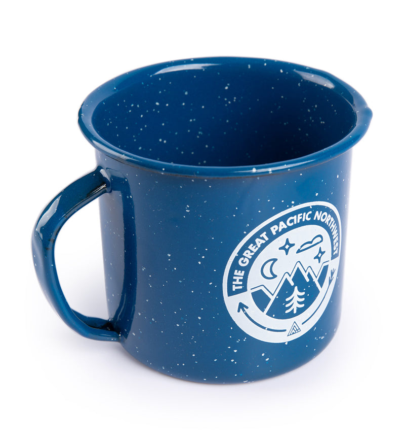 Campout Enamel Mug - The Great PNW