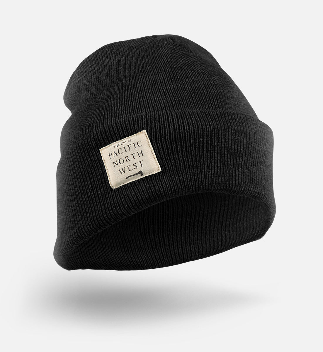 Lumberjack Beanie - Charcoal - The Great PNW