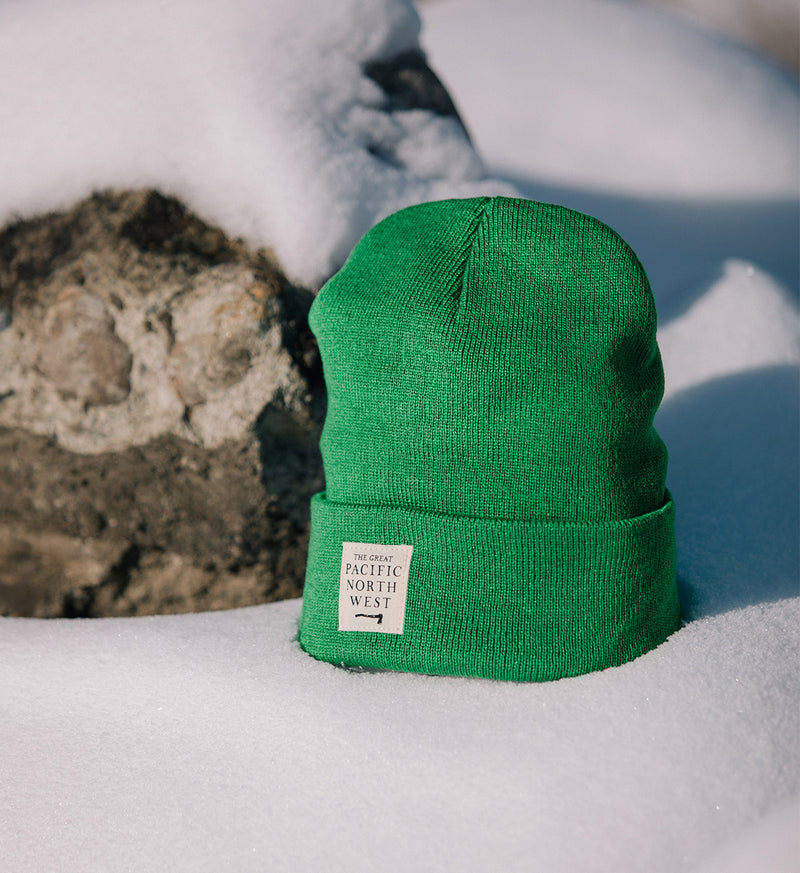Lumberjack Beanie - Evergreen - The Great PNW