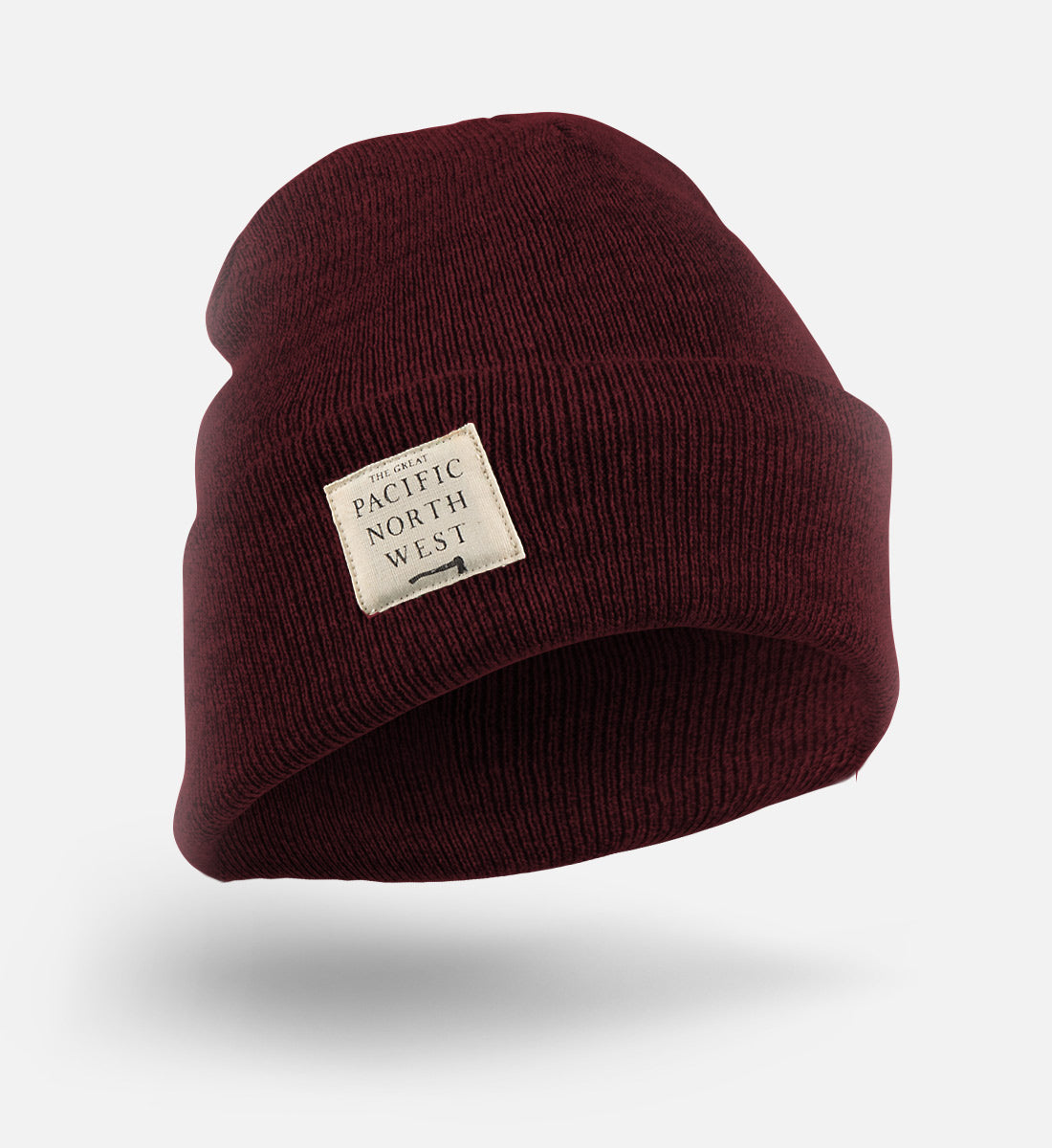 Lumberjack Beanie - Maroon - The Great PNW