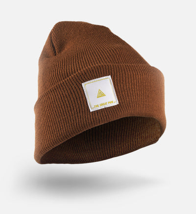 Block Beanie - Caramel - The Great PNW