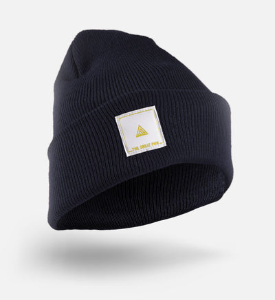 Block Beanie - Navy - The Great PNW