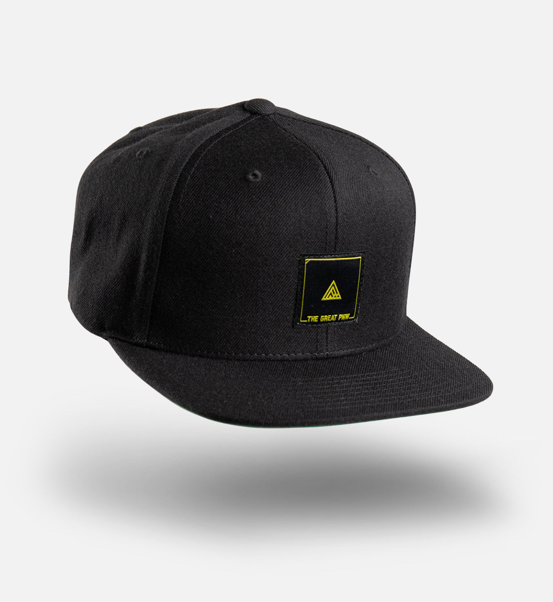 Block Flat Bill Hat