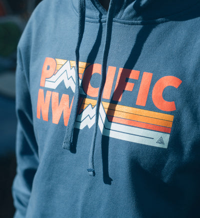 Peaks Hoodie - The Great PNW