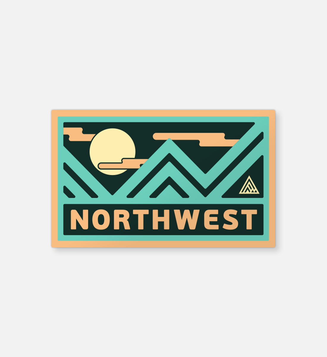 Metaline Sticker - The Great PNW