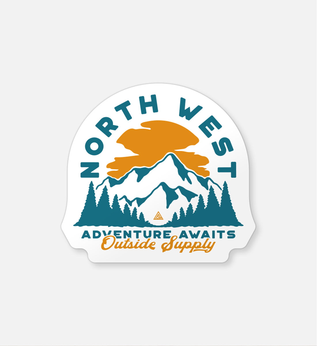 Roosevelt Sticker - The Great PNW