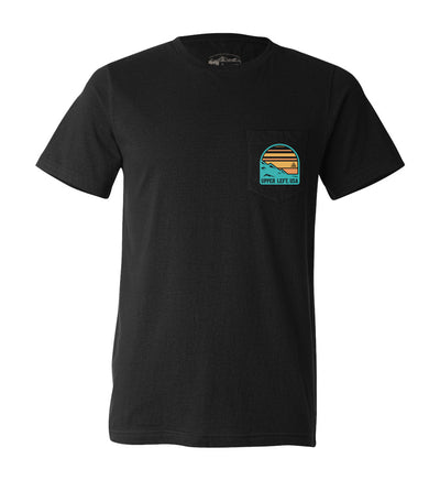 Sunset Pocket Tee - The Great PNW