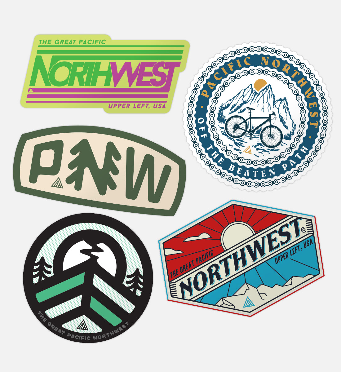 Willamette Sticker Pack