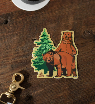 Woodsy Sticker - The Great PNW