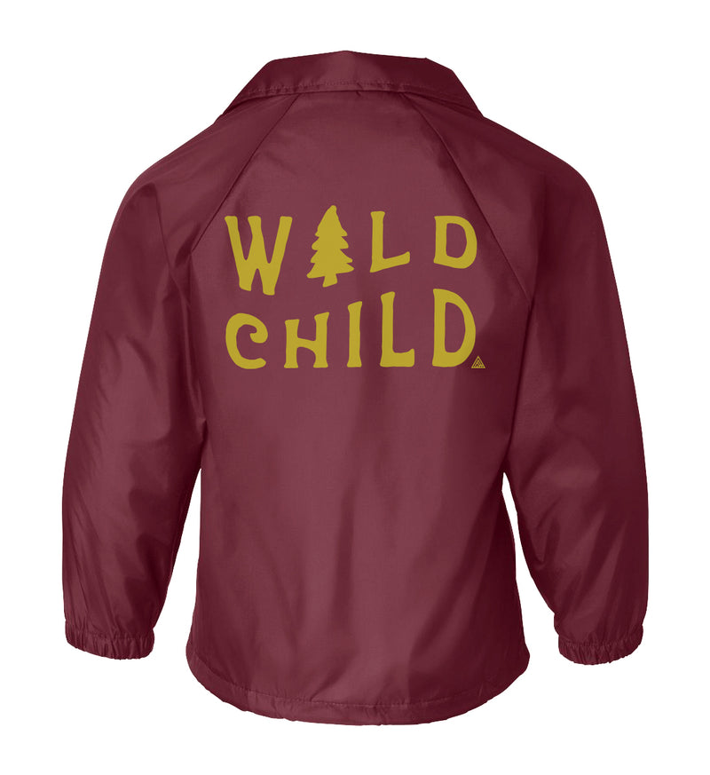 Wild Child Coaches Jacket - The Great PNW