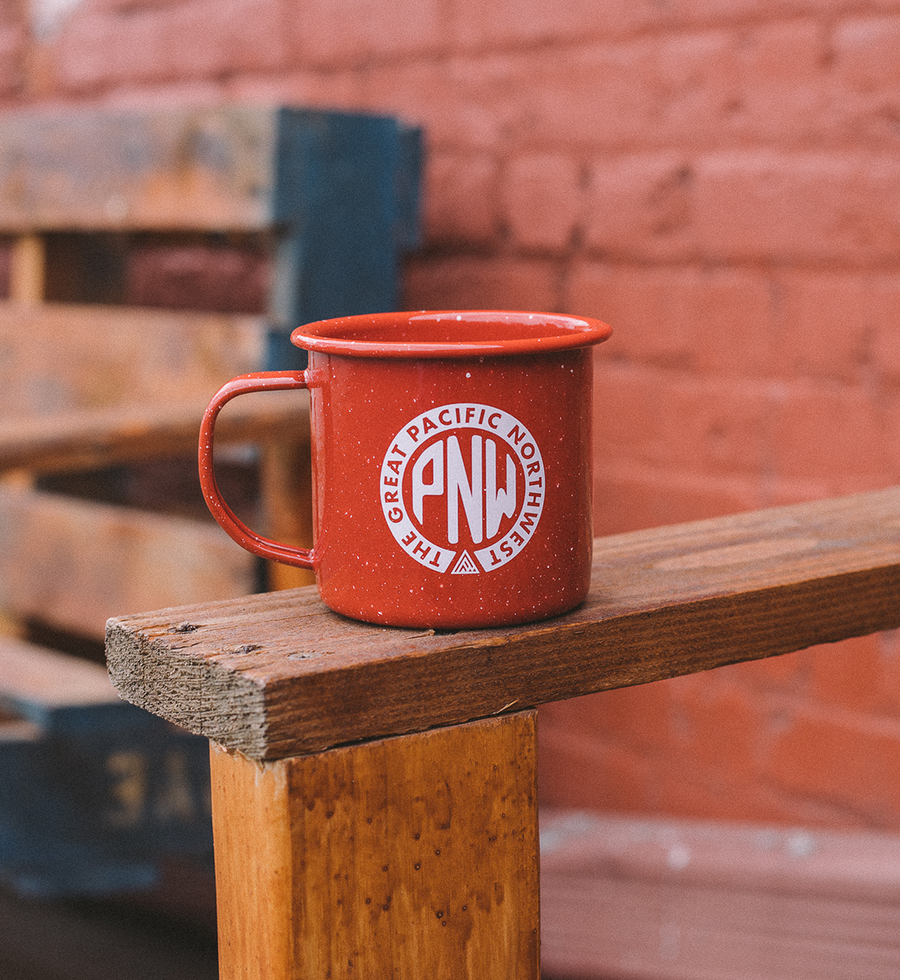 Union Enamel Mug - The Great PNW