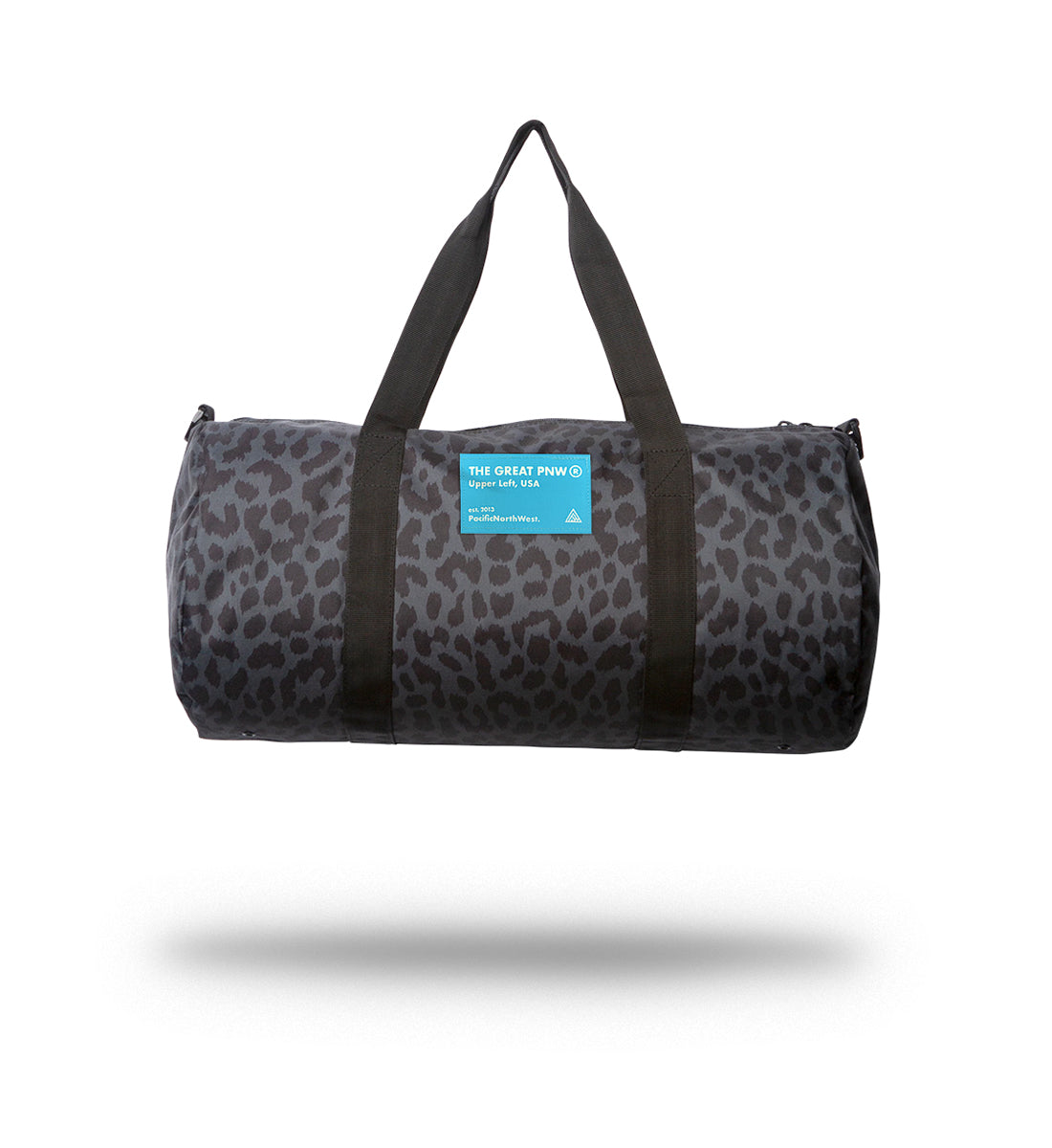 Serial Duffle Bag - Black Cheetah