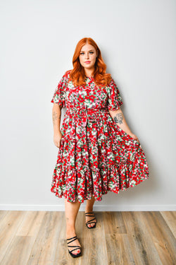 Bessie dress - Friday Flamingo