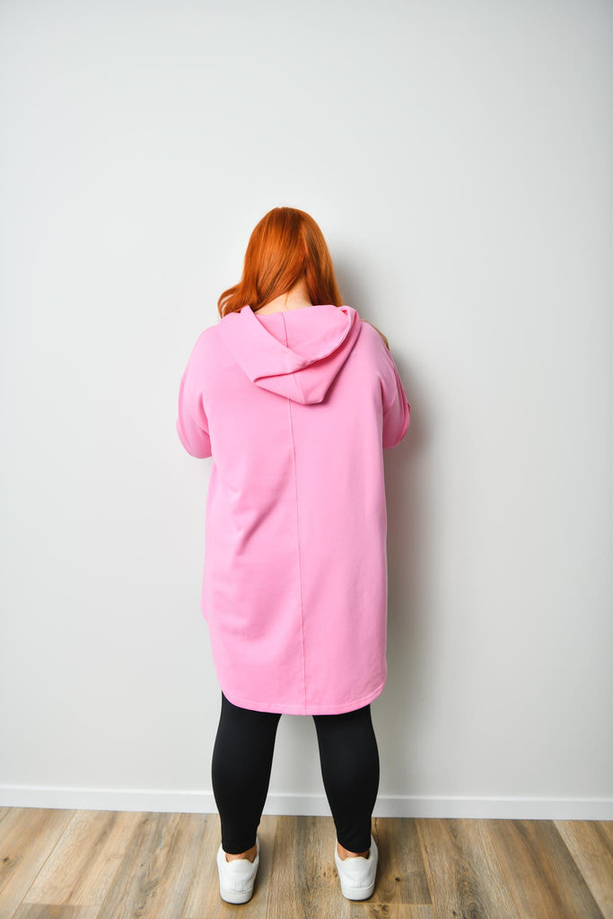 Crumb Catcher Hoodie - BUBBLEGUM PINK - Friday Flamingo