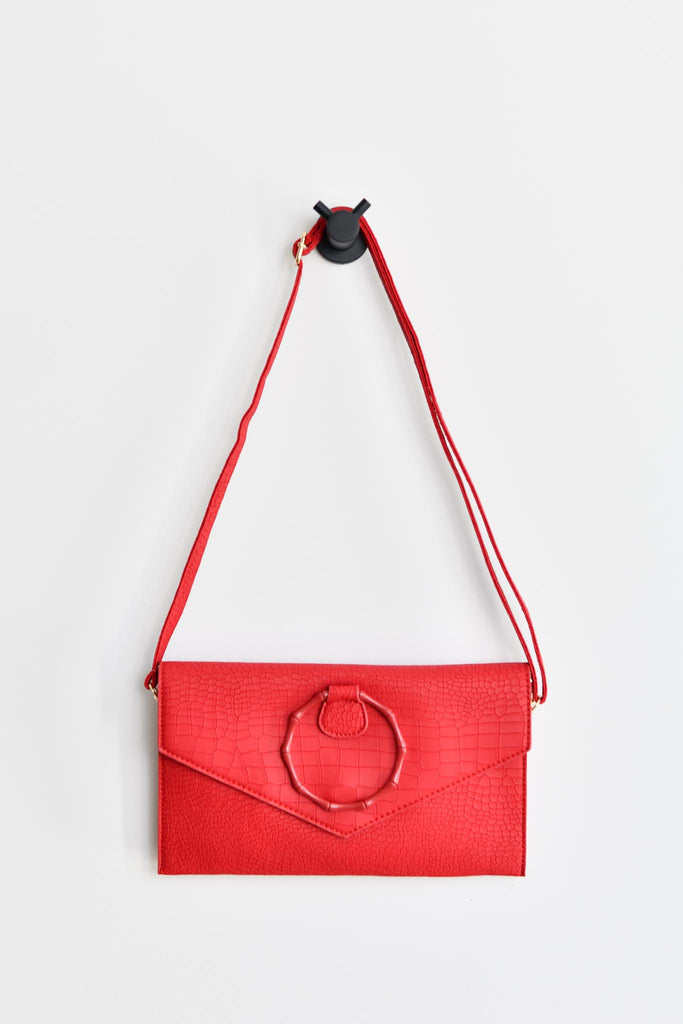 Veronica bag - Red - Friday Flamingo