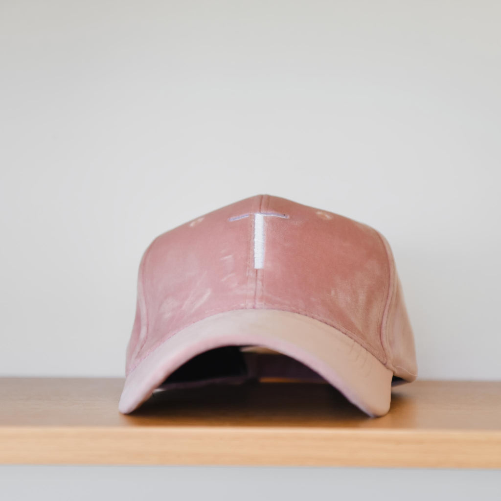 T Velour Cap - 2 Colours - Friday Flamingo